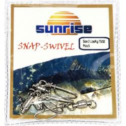 SUNRISE SNAP-SWIVEL